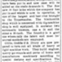 Hustling, Gillie Goddard and Drurys Big Machine Shop, article (Tonawanda News, 1896-10-15).jpg