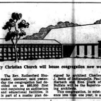 Wurlitzer Park church will house congregation worshipping in Wurlitzer plant, article (Buffalo Courier-Express,1959-01-24).jpg