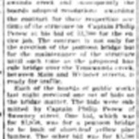 Let contract for a bridge, Cpt Perew pontoon, article (Tonawanda News, 1916-10-27).jpg