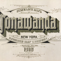 Insurance Maps of Tonawanda, title page (Sanborn Map Company, 1910).jpg