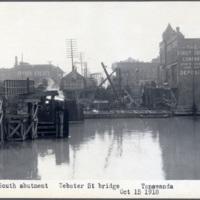 South abutment. Webster Street bridge, photo (NYSA, 1918-10-15).jpg