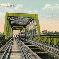 Erie Bridge railroad, postcard (1916).jpg