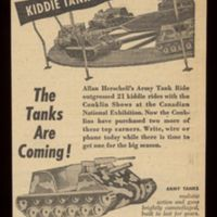 Kiddie Tank Ride, Allan Herschell Co, ad (1954).jpg
