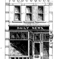 Tonawanda Daily News, Webster Street, illustration (Tonawanda News, 1900-03-12.jpg