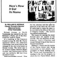 Meet Your Street - Hyland Ave (Tonawanada News, 1971-02-24).jpg