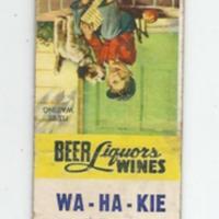 Wa-Ha-Kie Hotel, matchbook (c1950).jpg