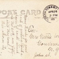 Goundry Street, postcard, reverse (1909).jpg