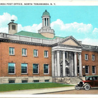 North Tonawanda Post Office, postcard (1942-04-07).jpg