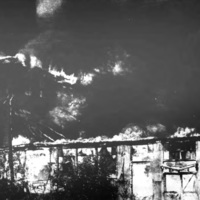 Former Auto-Wheel in flames, photo (Tonawanda News, 1972-05-30).jpg