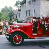 Ole Cellar Saver fire truck, Active Hose 2, parade, photo (1972).jpg
