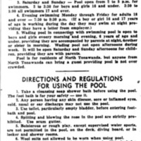 Memorial Pool rules and regulations, article (Tonawanda News, 1948-07-24).jpg