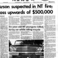 Arson suspected in NT fire, article (Tonawanda News, 1972-05-30).jpg