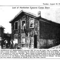 Last of Manhattan Eyesores Comes Down, photo (1950-08-15 Tonawanda News.jpg