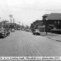 Oliver Street at 1st Ave looking south, photo (1947).jpg