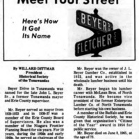 Meet Your Street - Beyer Drive in Tonawanda (Tonawanada News, 1970-09-26).jpg