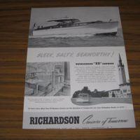 Richardson Boat Co., Cruisers of Tomorrow, ad (c1935).jpg