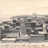 Tonawanda Island - Lumber District - North Tonawanda NY, postcard (1908).jpg