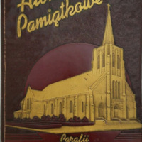 Our Lady of Czestochowa, yearbook cover (1945).jpg