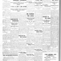 Smokers start fire, White Star proprietor Perew discovers, article (Ton News,1907-09-23).pdf