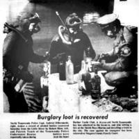 Burglary loot is recovered, photo article (Tonawanda News, 1973-03-25).jpg