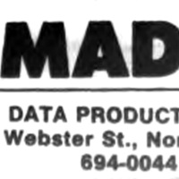 MAD Data Products, 6 Websyer, ad, logotype (Tonawanda News, 1986-10).jpg
