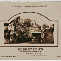 Robertsons Tourists Rest, photo postcard (1931).jpg