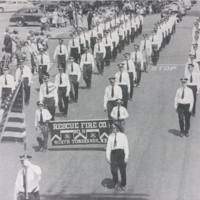 Rescue Fire Company marching, photo (c1940).jpg