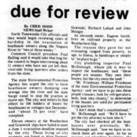 Eleven boathouses due for review, article (Tonawanda News, 1973-07-10).jpg
