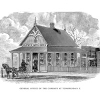 Gratwick, Smith and Fryer, General Office of the Company at Tonawanda, illustration (1880).jpg