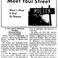 Meet Your Street - Mullen in Tonawanda (Tonawanada News, 1970-10-24).jpg
