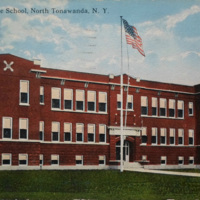 Colonel Payne School, North Tonawanda, NY c3, photo postcard.jpg