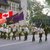 Sikora Post standard-bearers, parade, photo (1972).jpg