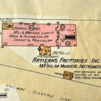 Artizan Factories Inc, map (Sanborn Insurance, HST, 1923).jpg