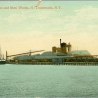 Tonawanda Iron and Steel Works, postcard (1916).jpg