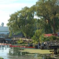 Demolished lots, Boathouse Park, photo (Dennis Reed Jr, 2008-09-20).jpg