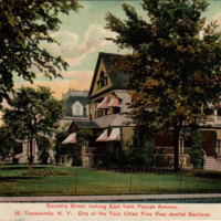 Goundry Street Looking East form Paynes Avenue, de Kleist residence, photo postcard.jpg