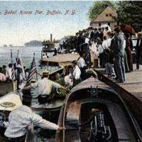 Launch Club, Bedell House Pier, Buffalo, NY (1907 postcard).jpg