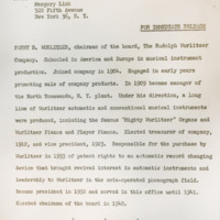 Wurlitzer press release on Farny Wurlitzer (NTPL, 1956).jpg