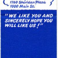 Gleasons Restaurants, 1090 Niagara Falls Blvd, matchbook reverse.jpg