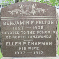 Felton, Benjamin, photo of grave in Sweeney Cemetery.png