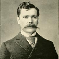 Alan Herschell, photo portrait (Landmarks of Niagara County, 1897 PD).jpg