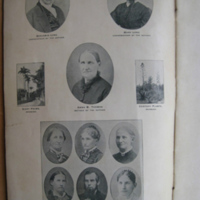 Genealogy of Benjamin Long, photo page (1898).jpg