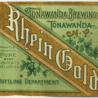 Rhein Gold, Tonawanda Brewing Company, label (c1900).jpg
