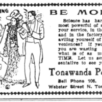 Tonawanda Power Co., ad (Tonawanda Evening News, 1907-08-09).jpg