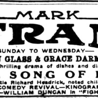 Mark Strand Theatre, ad, logotype (Buffalo Courier, 1922-11-12).jpg