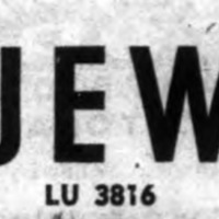 Leon Jewelers, 240 Oliver, logotype from ad (1952-12-01).png
