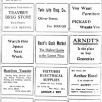 Do Your Buying on Oliver Street, business ads (Tonawanda News, 1913-12).jpg