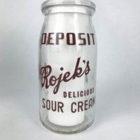 Rojek's delicious sour cream, bottle (c1960).jpeg