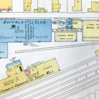 Buffalo Sled and Adamite Abrasives Emery Mill, map detail (Sanborn Map Company, 1910, 1913).jpg