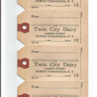 Twin City Dairy, milk bottle tags (c1950).jpg